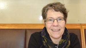 Forskare, Katarina Rejman som nyligen har disputerat med en avhandling om litteraturundervisning i högstadiet.