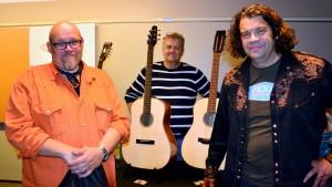Anders Sjöberg, Olav Löf och Per-Erik Jansson