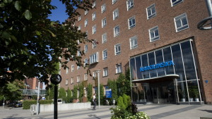 Karolinska universitetsjukhuset i Solna, Sverige.
