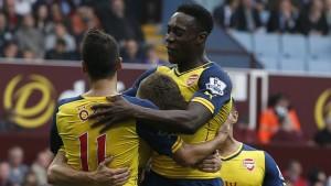Arsenal firar ett mål