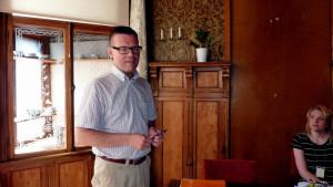 Markku Lumio, före detta stadsdirektör i Vasa.