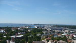 Utsikt över Hangö och Västra hamnen