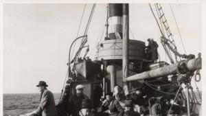 s/s Georg påväg till Sverige september 1944