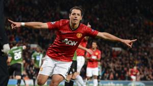 Javier Hernandez, Manchester United