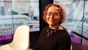 Anu Koivunen i Obs debatt 19.12.2013.
