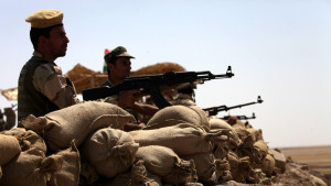 kurdiska peshmergakrigare