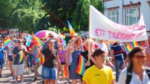 Prideparad på Åland 2014