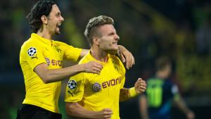 Ciro Immobile gjorde segermålet för Dortmund.