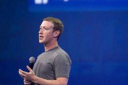 Facebook value down