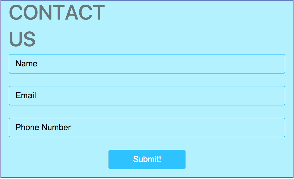 Simple php contact us form with bootstrap 4 falaconquin