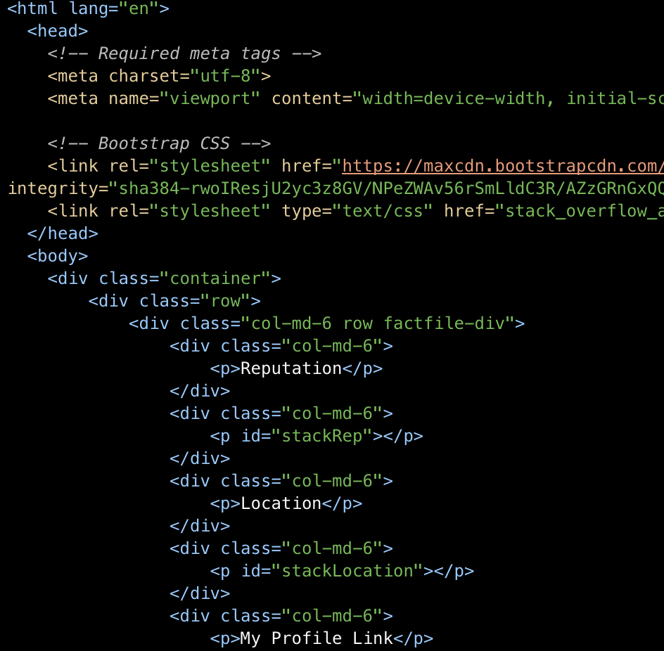 Simple php contact us form with bootstrap 4 use stack overflow api to update website using jquery falaconquin