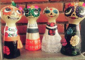 las-catritas-en-vestidos-tipico