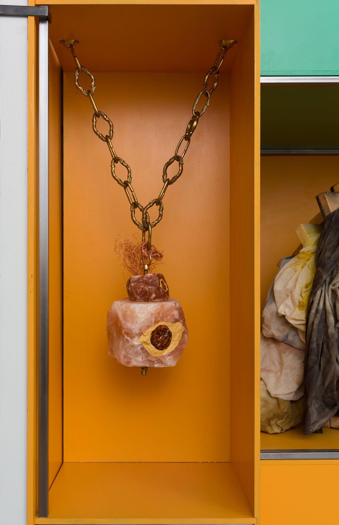 Olga Koumoundouros, Medusa Chimes, detail