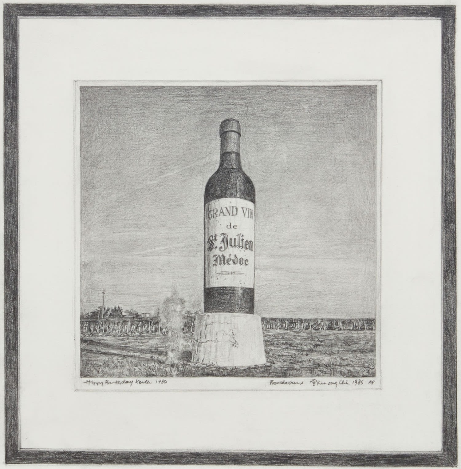 Untitled (Tseng Kwong Chi, Bordeaux, France, 1985)