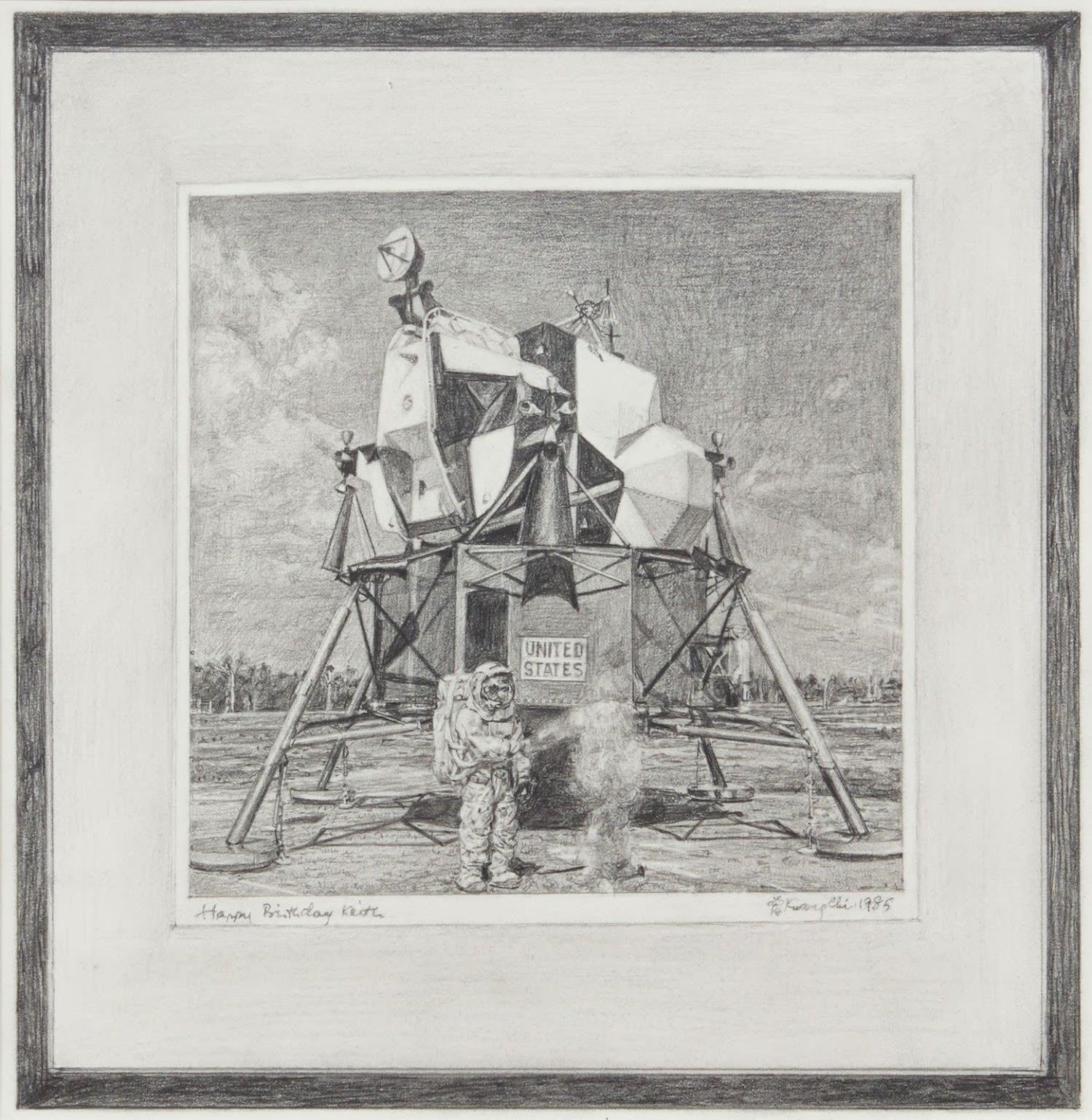 Untitled (Tseng Kwong Chi, Cape Canaveral, Florida, 1985)