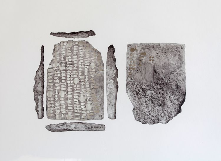Proto Elamite (MDP 17, 085), by scale, 2013, detail-L