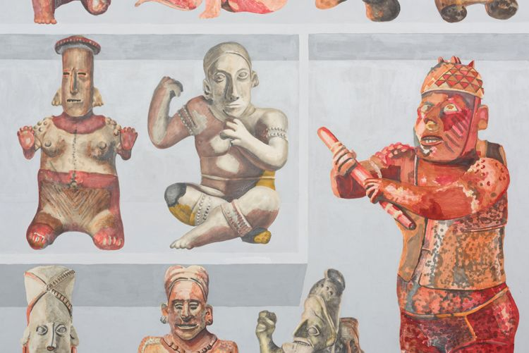 31 west Mexico ceramics from LACMA collection: Jalisco Index, detail