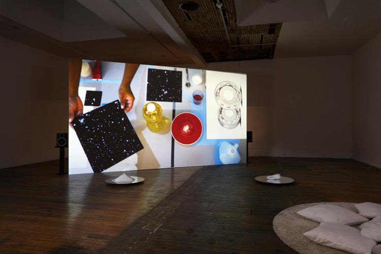 Hexafluorosilicic, installation view