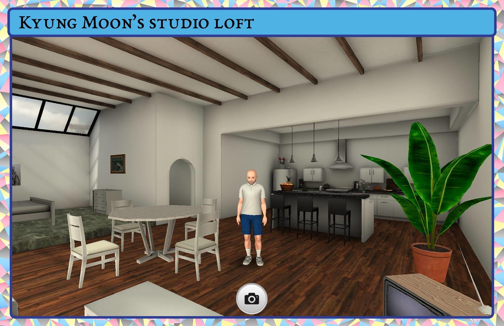 Kyung Moon's studio loft