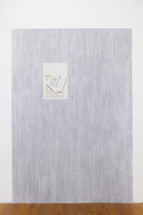 White violets, Installation view