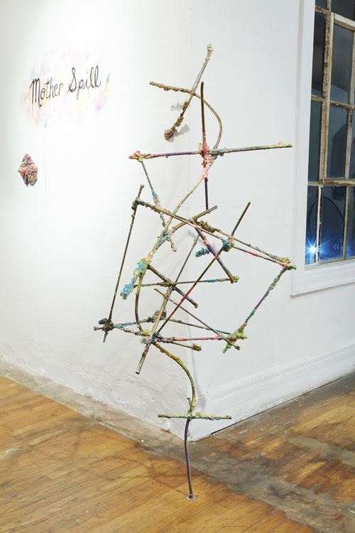 Untitled (Corner Grid), 2014
