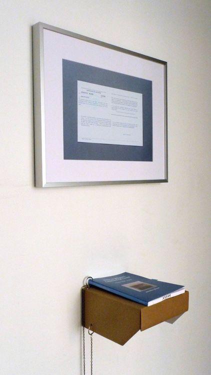 Prison Relic #14: Certificate, 2012