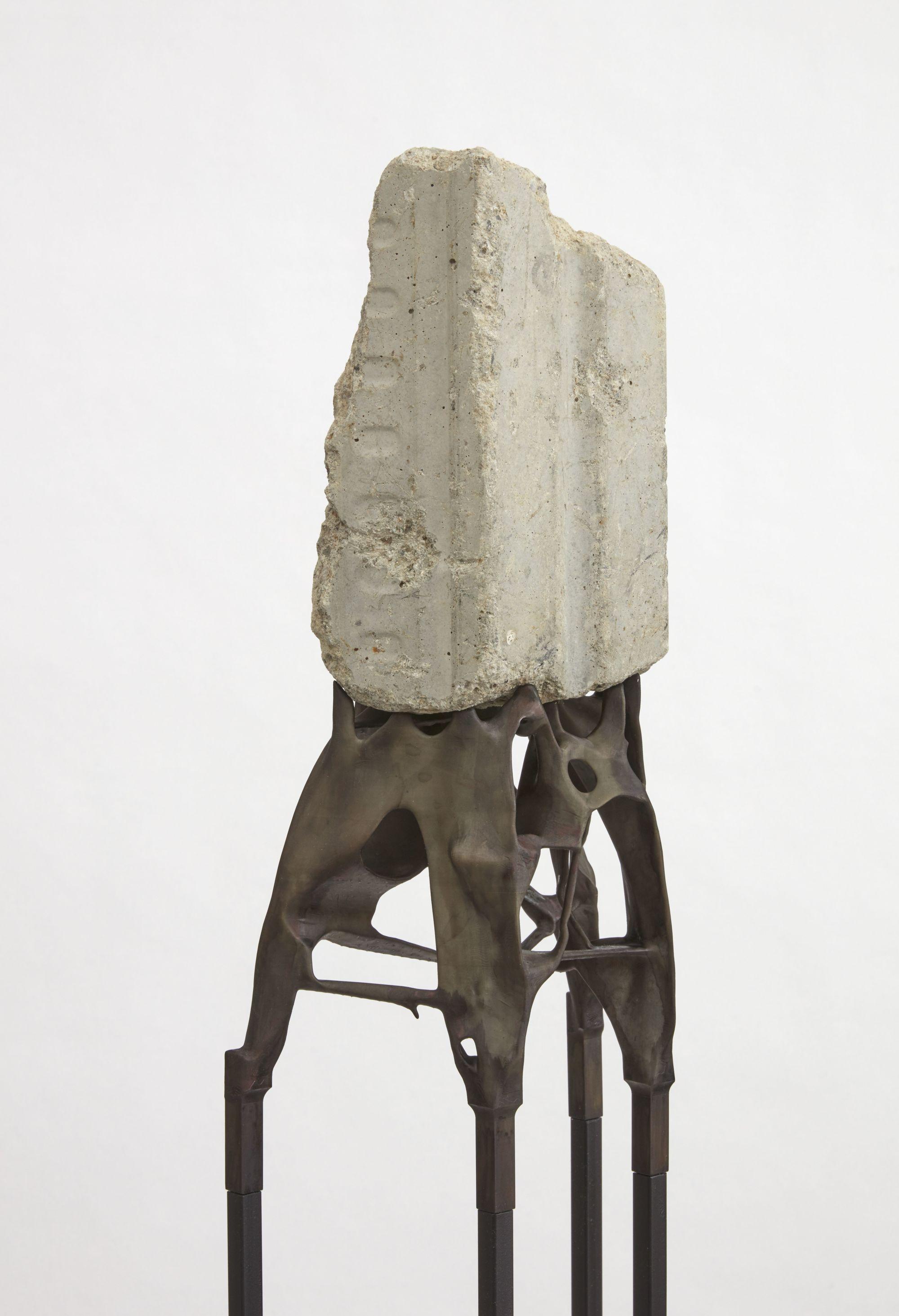 Manifold Prosthetic for Museum Fragment 2, detail