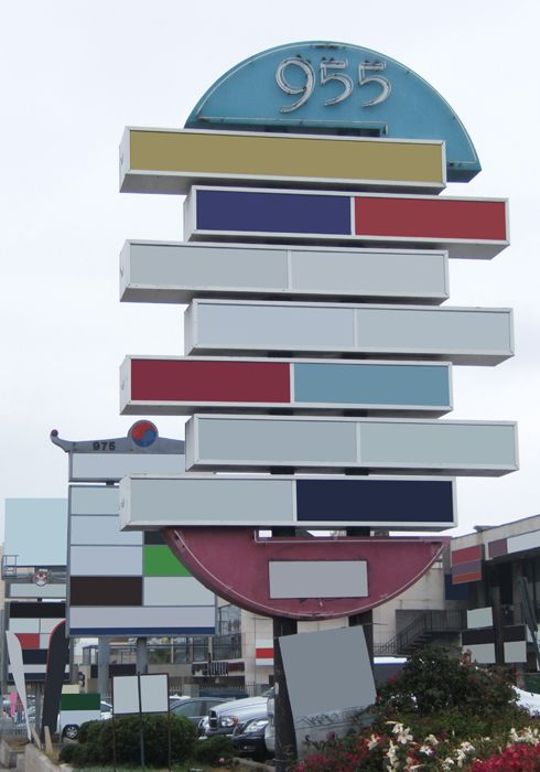Remembering Places by the Shape of their Billboard 1 -  Vermont by Olympic, 2010