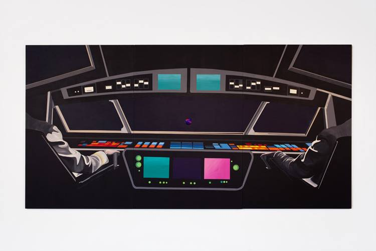 Rainbow Control Room (2001 Space Odyssey), 2014