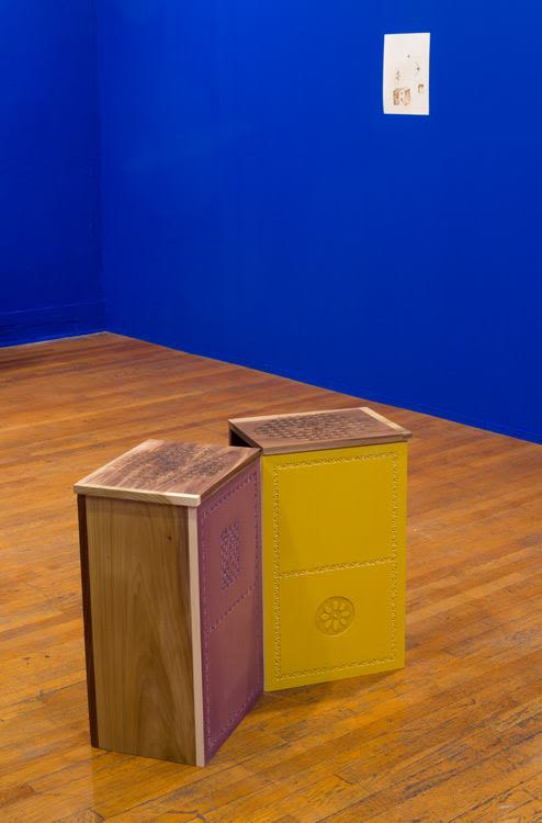 Box for Kang Seung Lee and Geoffrey Wall, 2016-26