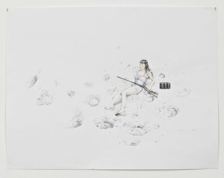 On the Moon with Rifle, 2012