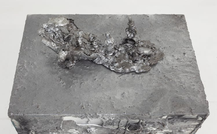 Young Joon Kwak, Trans-Creation Relic and Untitled (Plinth IV), detail