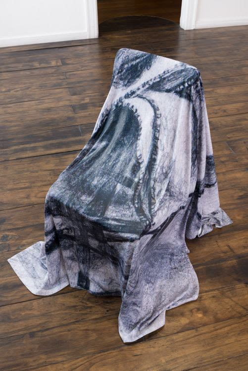Untitled (Peter Hujar_Blanket on a chair_1983), 2016