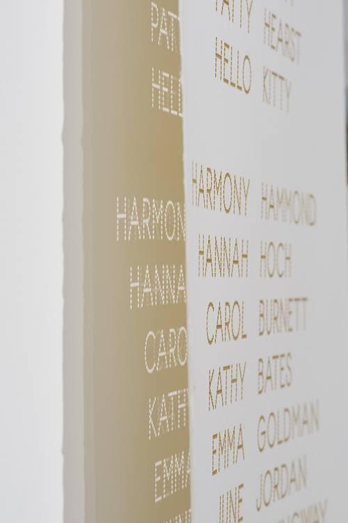 Cast List, detail