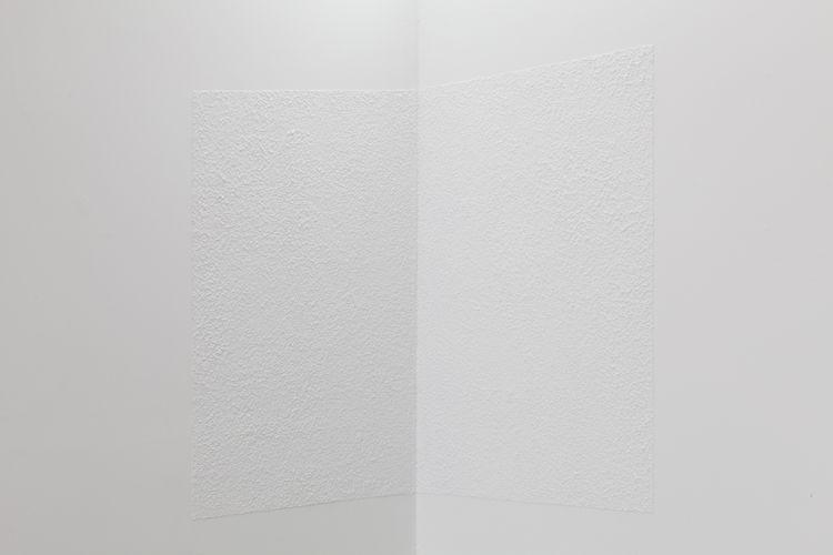 Northeast studio wall (1:3 scale), 2013