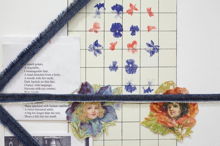 Floral arrangement, detail