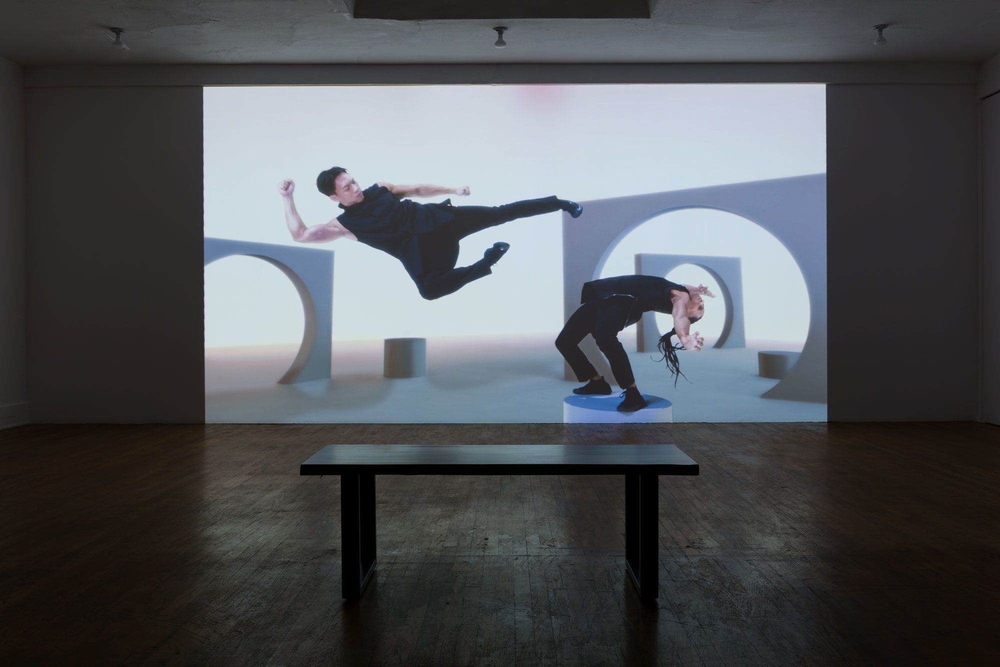 Ruthless Logic, installation view