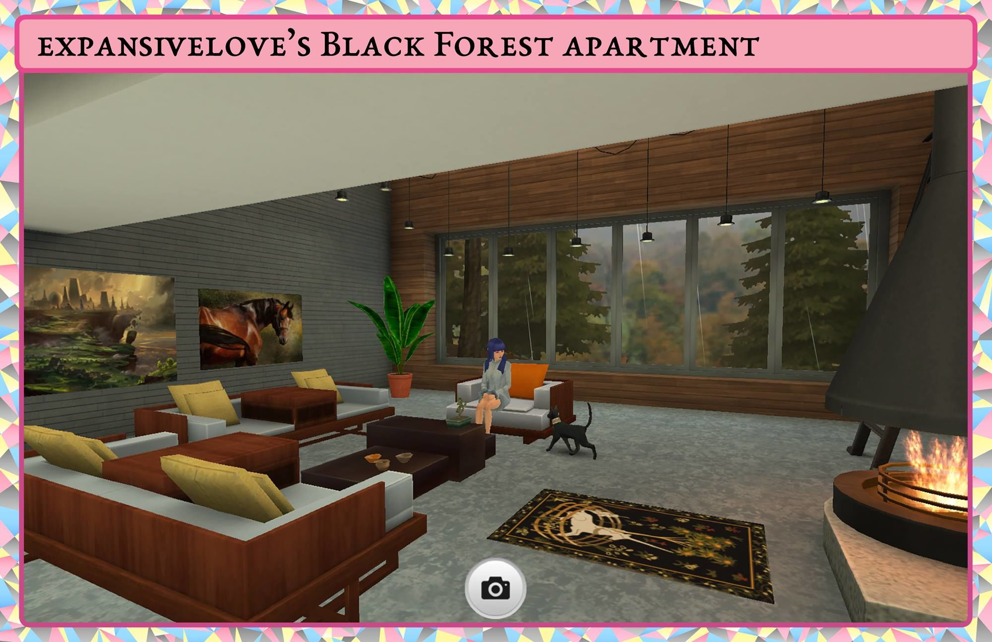 expansivelove's Black Forest apartment