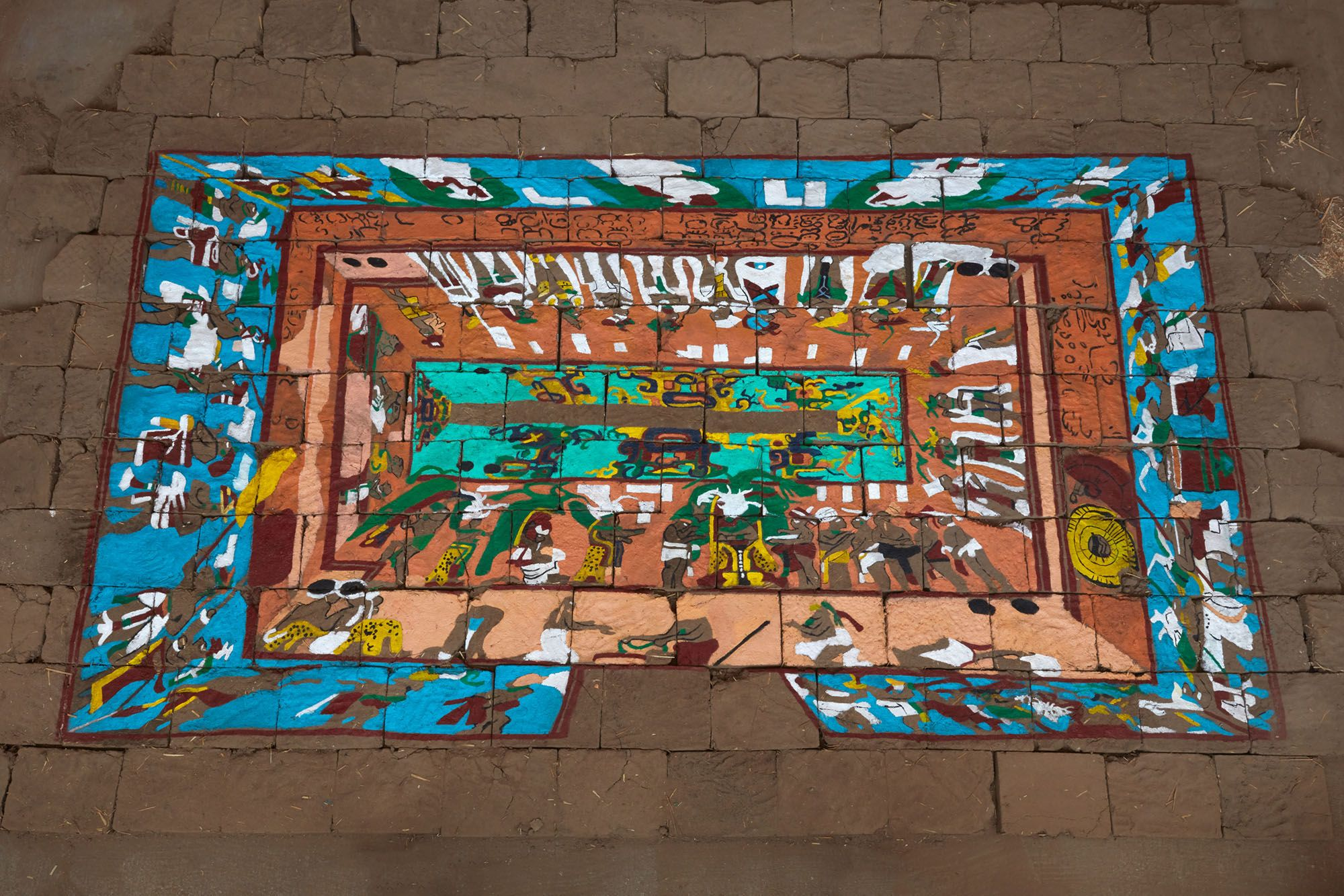 Bonampak: Structure   Bird's-eye View