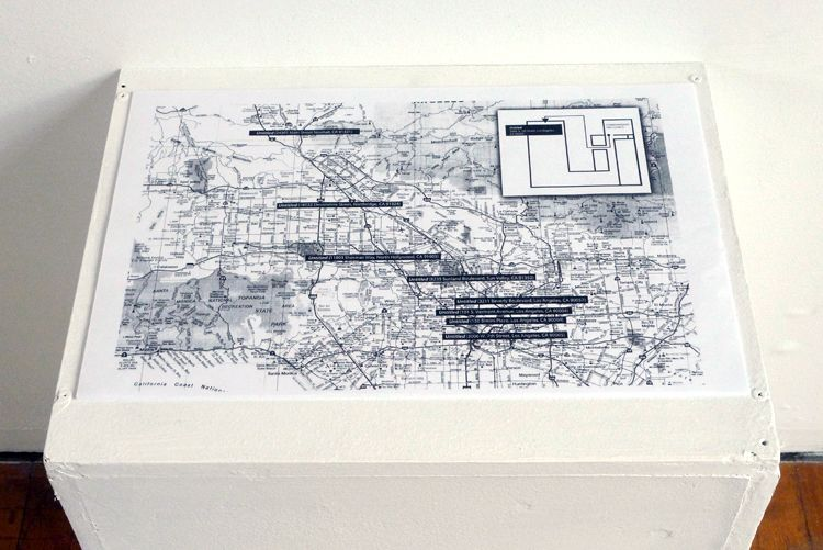 Mapping the Untitled, 2012