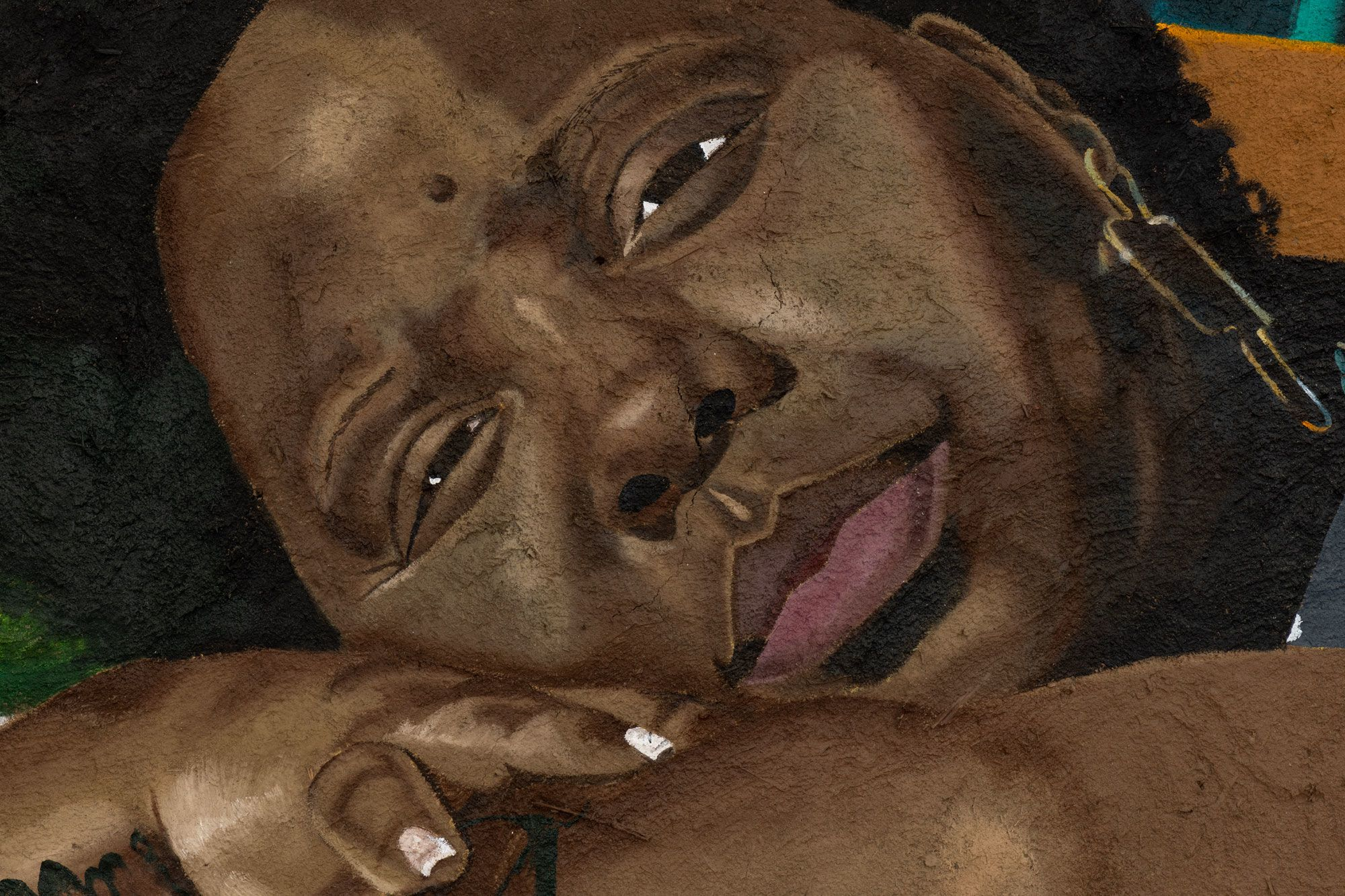 big chillin with Patrisse, detail