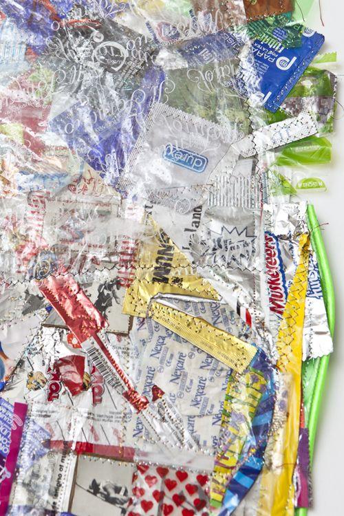 Orlando Tirado, Magnum Opus (Crazy Quilt), detail