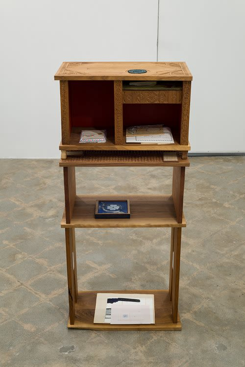 Box (a proposition for ten years), detail