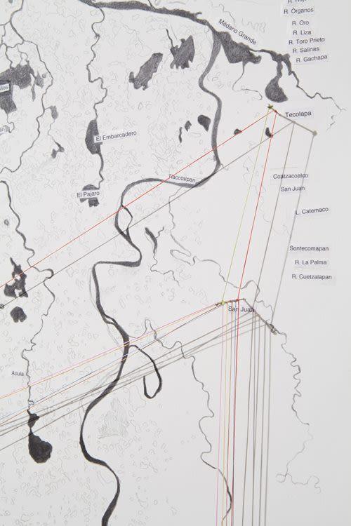 Mapping stones (predominant rock types of sub basins in Papaloapan river basin), detail