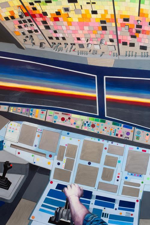 Disco Cockpit, detail