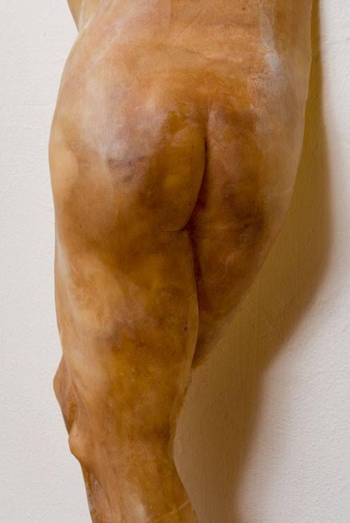 Lying Hermaphroditus, detail