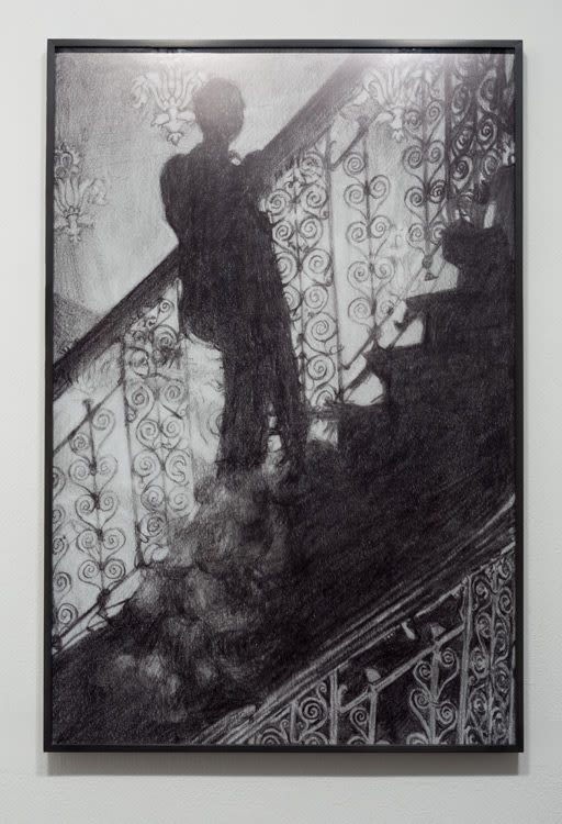 Untitled (Isaac Julien_Film Noir Staircase_1987)