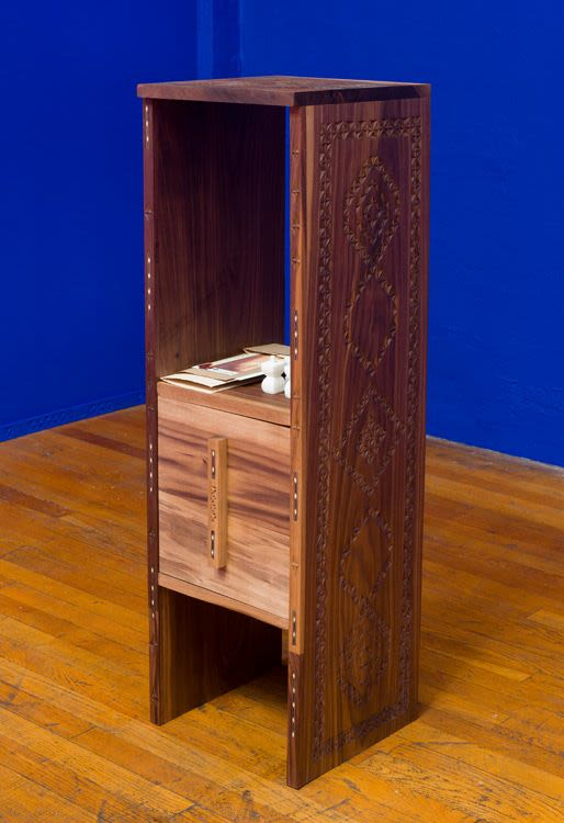 Box for Beate and Christopher Chee, detail