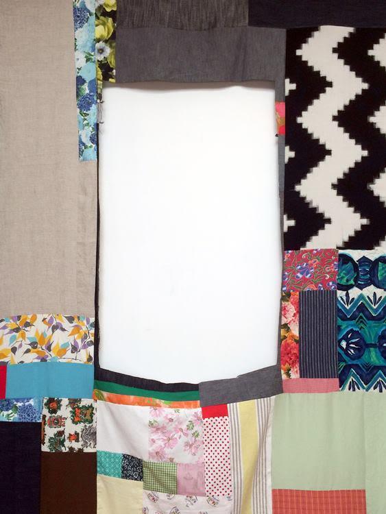 Mother Cloth, detail (week 3)