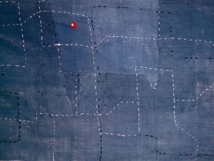 Cirilo Domine, Running Stitches, detail